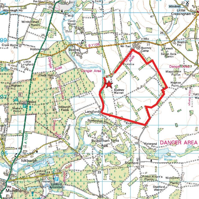 Where Is Breckland: The Breckland Society > Bodney