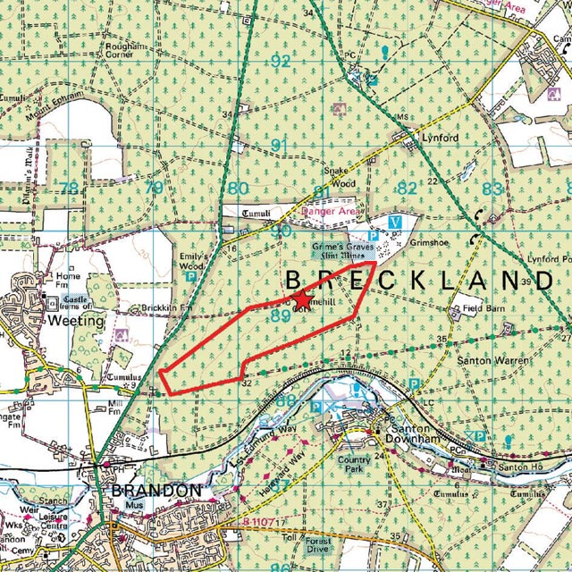 Where Is Breckland: The Breckland Society > Broomhill