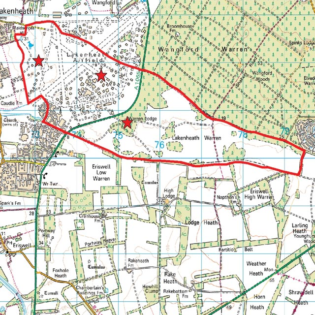 Where Is Breckland: The Breckland Society > Lakenheath