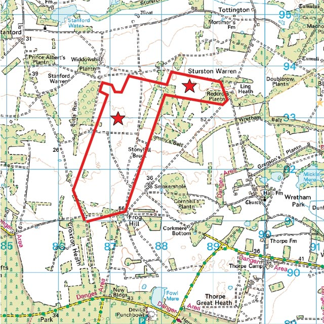 Where Is Breckland: The Breckland Society > Sturston
