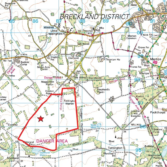 Where Is Breckland: The Breckland Society > Tottington