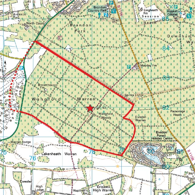 Where Is Breckland: The Breckland Society > Wangford